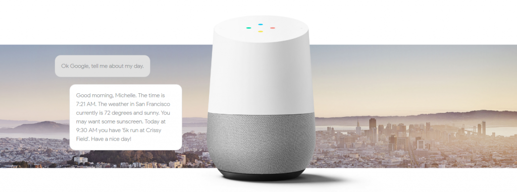 Win a Google Home at Pink17