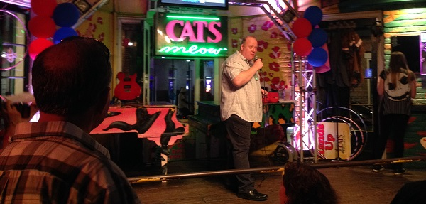 EV Connect 2016: karaoke at Cats Meow