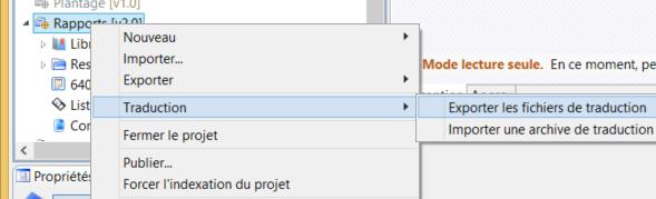 image d'une importation de contenus dans une procédures