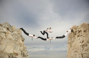 la confiance et l'assistance en entreprise