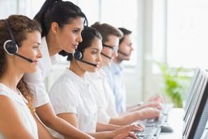 productivité centre d'appels