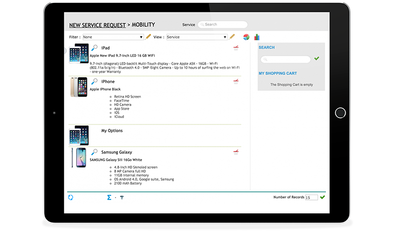 engage IT service request management software