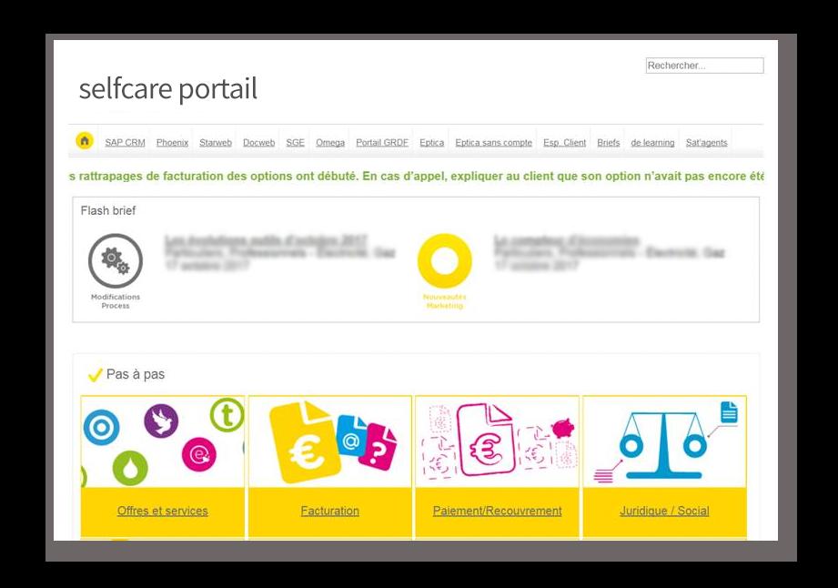 selfcare portal